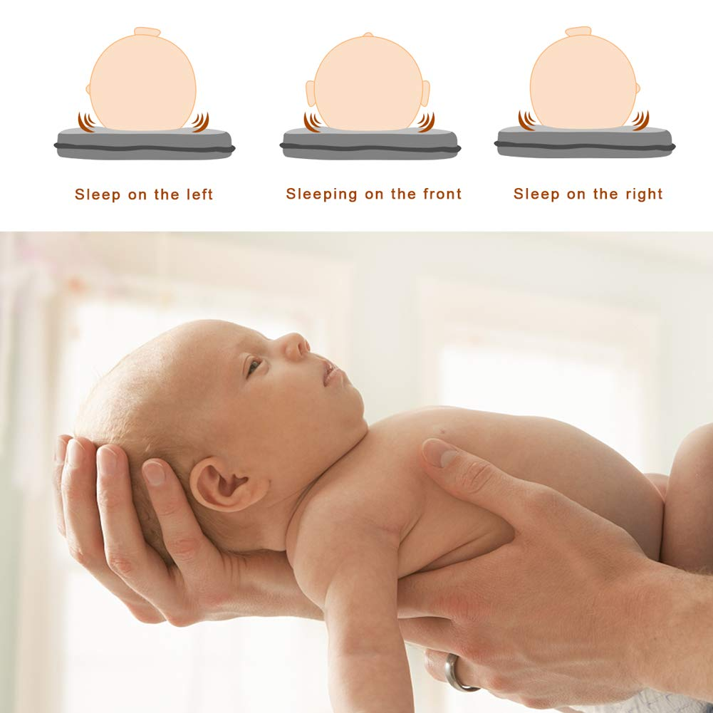 Amazon.com: Baby Head Shaping Pillow, Baby Flat Head Pillow ...