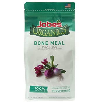 Best Natural Fertilizer for Controlling or Preventing End Rot: Jobe's Organics Bone Meal Tomato Fertilizer