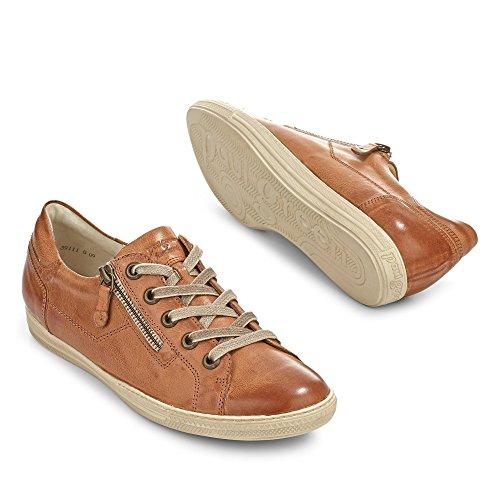 Paul Green Damen Sneaker 4128 217 Größe 37.5 Braun (braun)