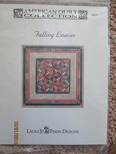 Falling Leaves - Needlepoint Pattern and Supply List - Perin Designs