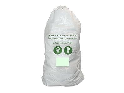 Bevorzugt 10er Pack Mineralwolle/KMF Bag 220 cm Entsorgung Sack TRGS 521 QP72
