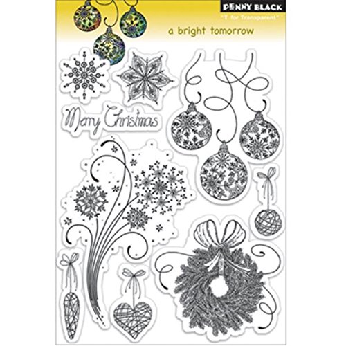 Penny Black 30-130 A Bright Tomorrow Clear Stamp