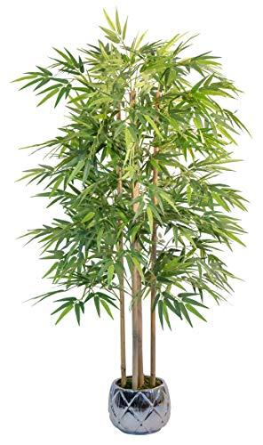 Maia Shop 1137 Bambu Canas Naturales, Elaborados con los Mejores Materiales, Ideal para Decoracion de hogar, Árbol, Planta Artificial (150 cm), Mixtos
