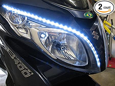 Review LED DRL Head Light