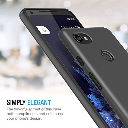 brand new 2dbbc 91a5b Google Pixel 2 XL Case, Maxboost [mSnap] Thin Cases [Black] Extreme Smooth  Surface with Anti-Slip Matte Coating for Excellent Grip Hard Protective PC  ...