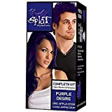 Splat Rebellious Colors Hair Coloring Complete Kit Purple Desire
