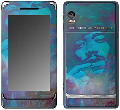 MusicSkins, MS-JIMI70207, Jimi Hendrix(TM) - Valleys Of Neptune, Motorola Droid 2, Skin from MusicSkins