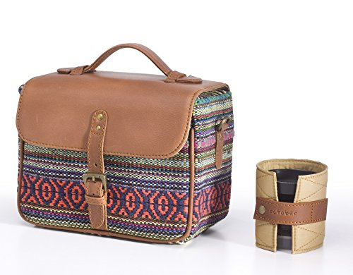 Camera Bag Red Durrie by October Jaipur