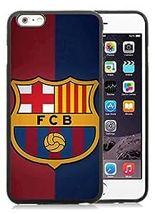 Barcelona 1 Black Cool Customized Design iPhone 6 plus,iPhone 6s plus 5.5 Inch Silicone TPU Case