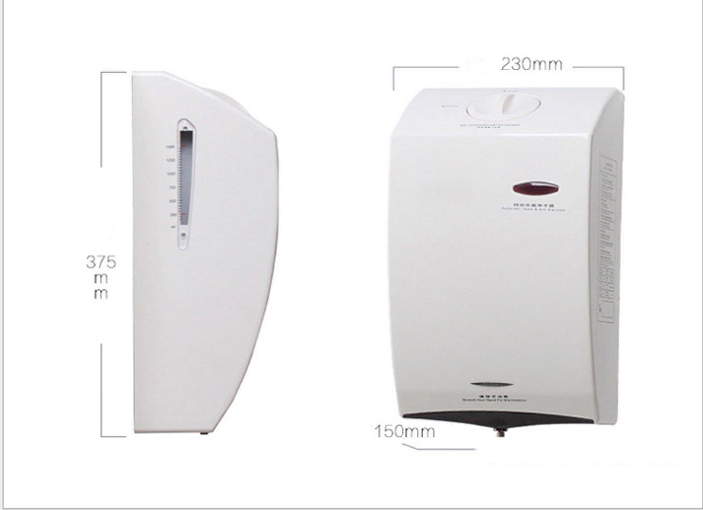 Esterilizadores automático de la Mano del espray del Alcohol, Limpiador de la Mano Que esteriliza, Conveniente para el hogar, Restaurante: Amazon.es: Hogar