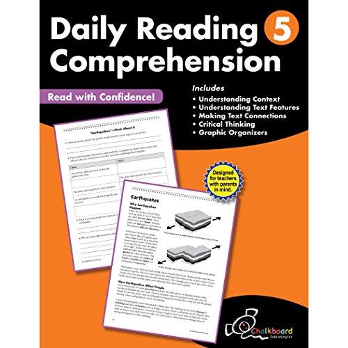Daily Reading Comprehension Grade 5 (Chalkboard Publishing Workbooks)