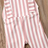 ZAXARRA Toddler Baby Girl Stripes Bell-Bottom