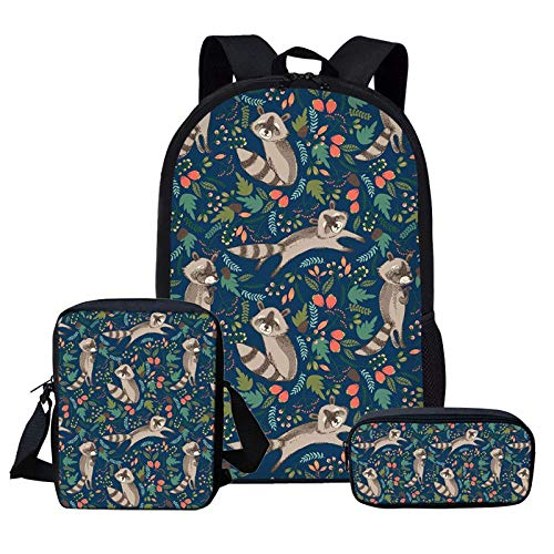 QMM backpack school bag 3Pcs Children School Bag Backpack for sale  Delivered anywhere in Canada