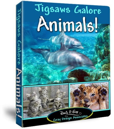 - Jigsaws Galore Animals! Puzzle Game for Windows PC: Puzzle Themes Include Exotic Wildlife From Alligators to Zebras and Familiar Pets Like Cats, Dogs, Turtles, Squirrels, Deer, Fish, Insects Plus Much More