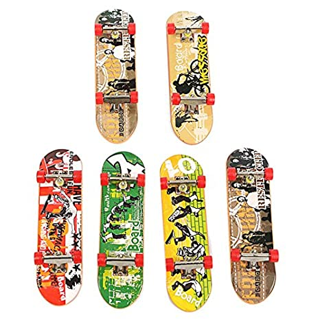 d8f2f28114f5 Amazon.com: New DIY Finger Skateboard Site Skate Park Ramp Parts Finger  Board Site Ultimate Sports BY LETBO: Toys & Games