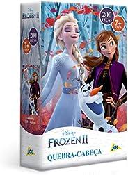 Frozen 2 - Quebra-cabeça 200 Peças Toyster Brinquedos Colorido