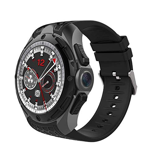DBCSD Watch Smart Watch Phone, 2GB+16GB, IP68 Waterproof, 1.39 inch Android 7.0, Quad Core up to 1.3GHz, Network: 3G, Heart Rate/Exercise Mode/2.0MP Camera/GPS/Bluetooth ()