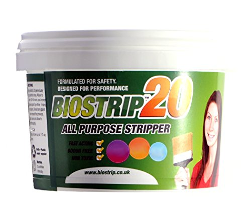 Biostrip 20 Paint Stripper 500ml, paint remover. Water based solution to...