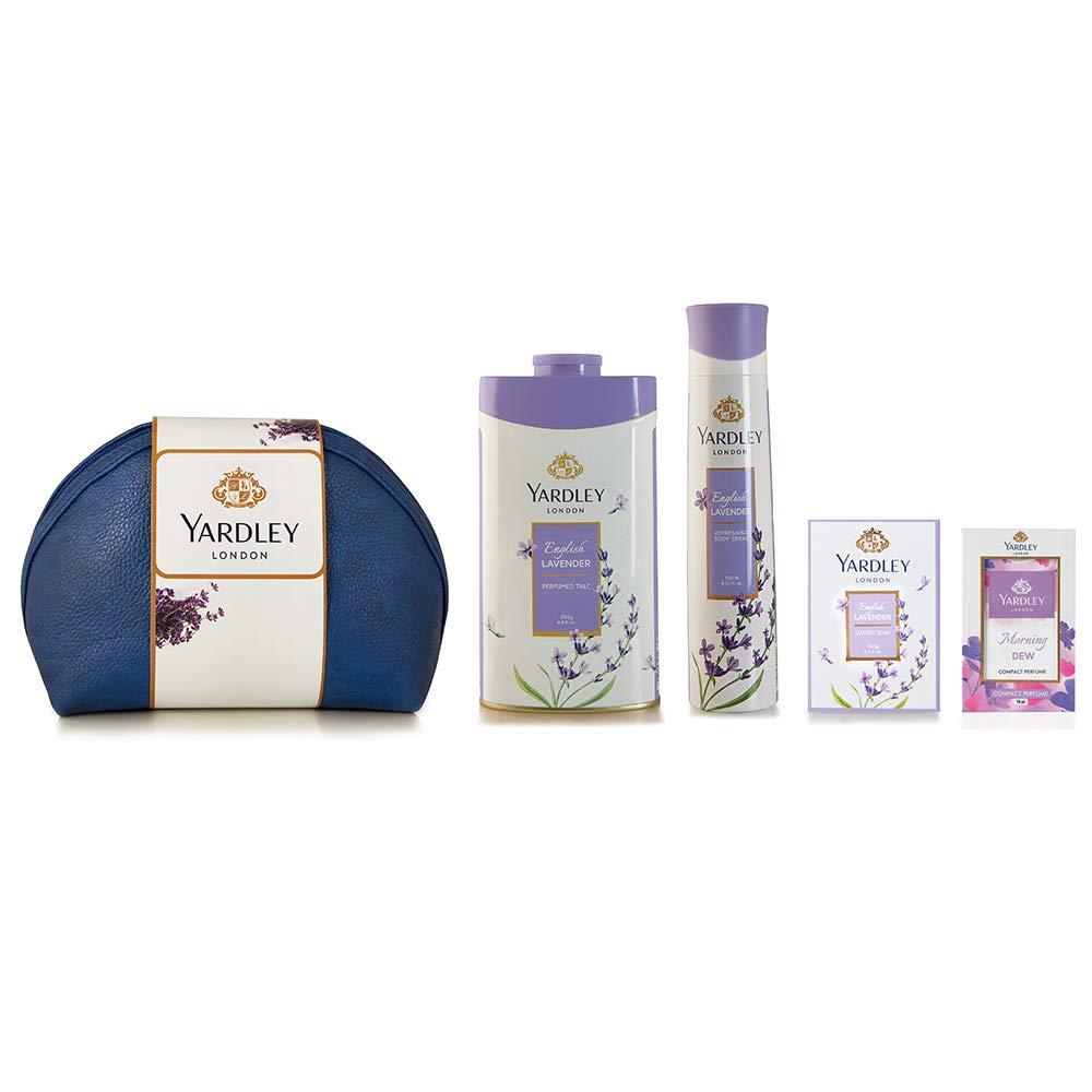 Yardley London English Lavender Range Gift Pack, 518 ml (Pack of 4)