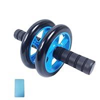 YJJSL Abdominal Sports Wheel - AB Roller Abdominal Trainer - Leise Abdominal Scooter - Home Fitness Männer und Frauen