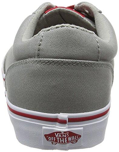 Vans Winston - Zapatillas Hombre Gris (Varsity Gray/Red)