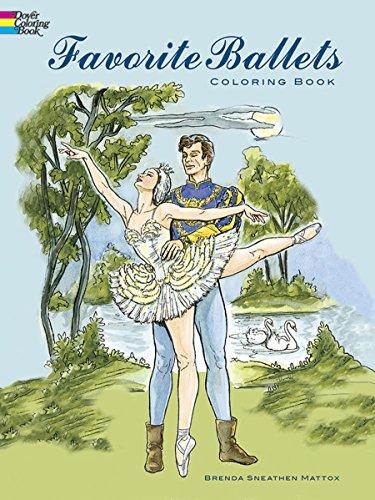 Favorite Ballets Coloring Book (Dover Fashion Coloring Book) ()
