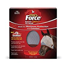 Manna Pro Pro-Force Equine Fly Mask   Made for Maximum Protection and Comfort