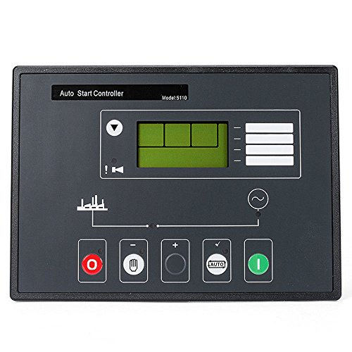YOKDEN DSE5110 Generator Controller Control Module Panel Monitor Remote Auto Start Automatic Control Motor Star LCD Display DC 8-35V Complete Replacement for Deep Sea (Lcd Public Information Display)