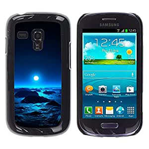 Stuss Case / Funda Carcasa protectora - Moonlight Icy Icebergs - Samsung Galaxy S3 MINI 8190