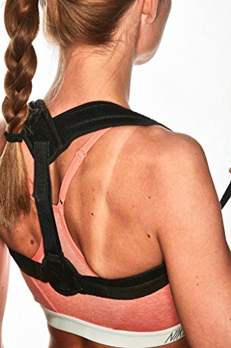 Posture Corrector for Women & Men – Comfortable and Effective Back Brace against Slouching & Hunching - Subtle Design – Clavicle Support For Medical Problems & Injury Rehab by Scandic Gear (Image #5)
