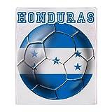 CafePress - Honduras Soccer Football - Soft Fleece Throw Blanket, 50''x60'' Stadium Blanket