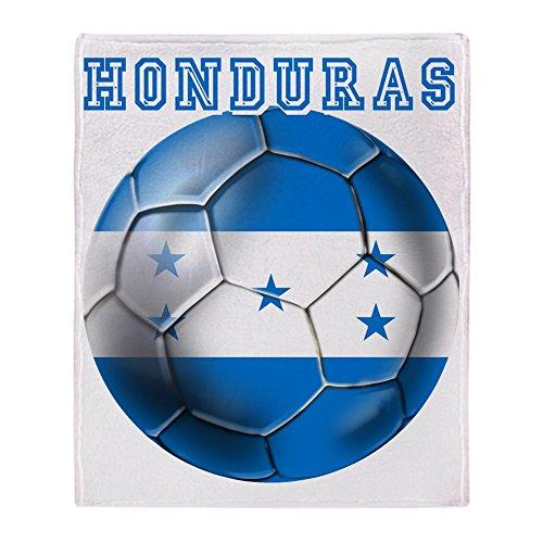 CafePress - Honduras Soccer Football - Soft Fleece Throw Blanket, 50''x60'' Stadium Blanket by CafePress