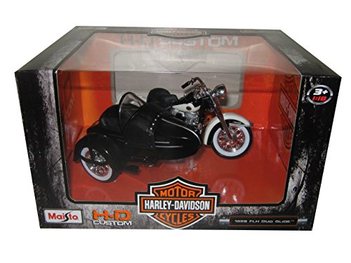 Maisto Motorcycles 1:18 Harley-Davidson Custom - 1958 for sale  Delivered anywhere in USA