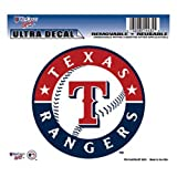 "MLB Texas Rangers Multi-Use Colored Decal, 5"" x 6"""