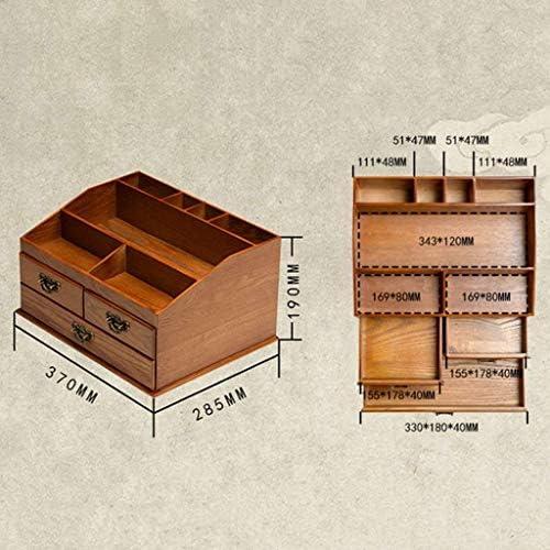 SHYPT オイル収納ボックス - 5ml、10ml、15mlボトル用30スロット - キャリーハンドル付き木製オーガナイザー - 無料アクセサリーが含まれていますハボム(ダークブラウン)