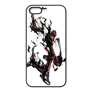 Iphone 5,5S LeBron James Phone Back Case DIY Art Print Design Hard Shell Protection DFG057000