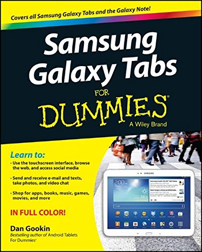 Price comparison product image Samsung Galaxy Tabs For Dummies