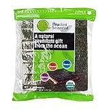 Pure Harvest Sushi Nori Premuum Grade Roasted Organic Seaweed, 50 Full Sheets