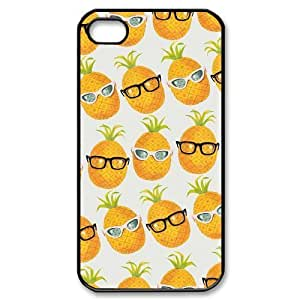 Pineapple ZLB590072 Custom Phone Case for Iphone 4,4S, Iphone 4,4S Case