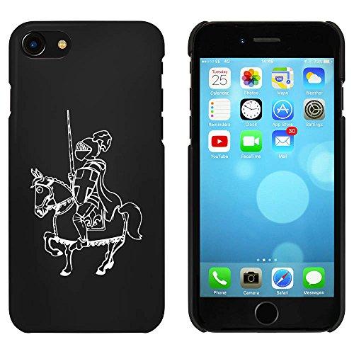 Noir 'Chevalier Monté' étui / housse pour iPhone 7 (MC00055967)