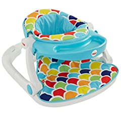 This comfy and convenient Sit-Me-Up Floor Seat from Fisher-Price is perfect for playtime…or snack time!The wide, sturdy base& soft fabrics help support little ones just learning to sit up on their own, sothey can explore the world arou...