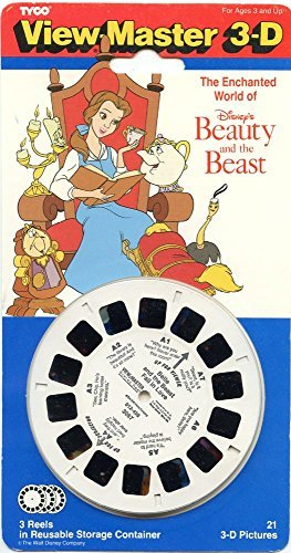 The Enchanted World of Disney's Beauty and the Beast 3D View-Master 3 Reel Set