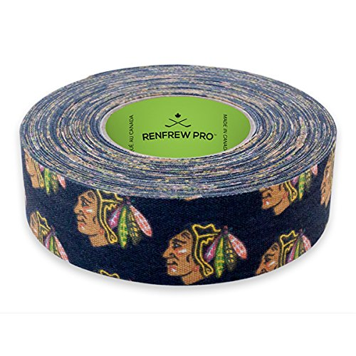 Renfrew NHL Team Cloth Hockey Tape (Chicago (Blackhawks Hockey Team)
