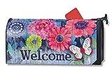 MailWraps Indigo Garden Mailbox Cover #01097