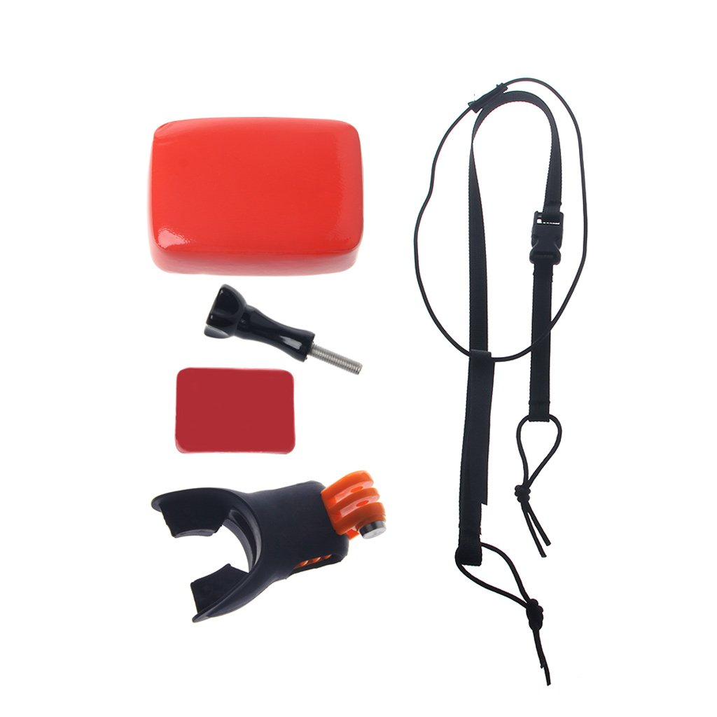 Huilier Surfing Shoot Surf Dummy Bite Mouth Grill Mount for GoPro Hero 5 4 3 2 SJCAM Kit by Huilier