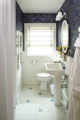 Moen dn8490ch preston bathroom vanity shelf chrome - Preston hardware bathroom vanities ...