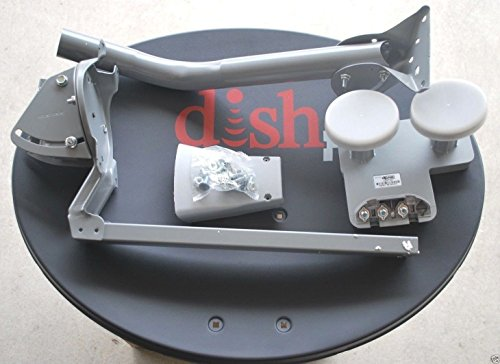 DISH NETWORK 1000.2 EASTERN ARC DPPLUS HDTV 72.7 & 61.5 DISH ANTENNA 3 OUTS