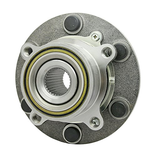Front Wheel Bearing Hub Fit For Mitsubishi Triton L200 Pickup ML MN 4WD 05-14 ()