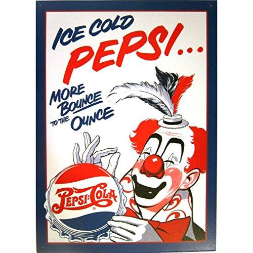 Hotrodspirit - Placa con diseño de Pepsi Cola y payaso ...