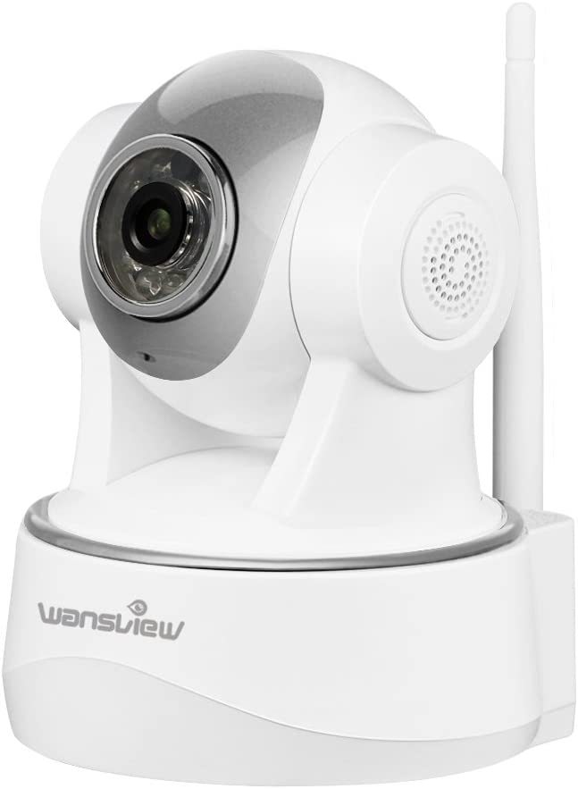 Wansview 1080P Baby Camera, WiFi Home Security Surveillance Camera Video Stream at 30fps, for Baby/Elder/Pet/Nanny Monitor, Pan/Tilt, Two-Way Audio & Night Vision Q2 (White)
